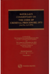 Batuk Lal's Commentary On The Code Of Criminal Procedure,1973 (Act No. 2 of 1974) (Volume 2 Set)